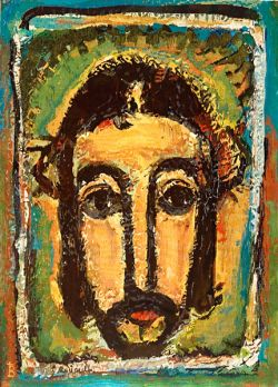 Tapestries of Bose - original painting: G. Rouault (1946)