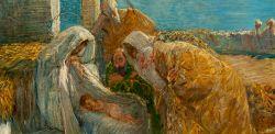 Gaetano Previati – Adorazione dei Magi – 1890-94 – Pinacoteca Fondazione Cassa di Risparmio di Tortona