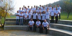 """Gli studenti della dell'Istituto superiore """"8 Marzo-Konrad Lorenz"""" di Mirano (VE)"""