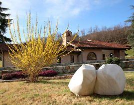 escultura Epíclesis-Invocación, B. Martinazzi, primavera