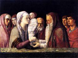 Giovanni Bellini; Presentazione di Gesù al tempio, 1460-64, Venezia