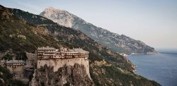 monastero di Simonos Petras - Penisola dell'Athos