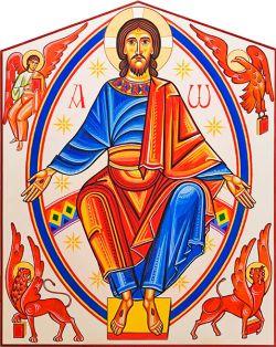 Style roman-catalan cm 135x110, église de san Masseo, Assise