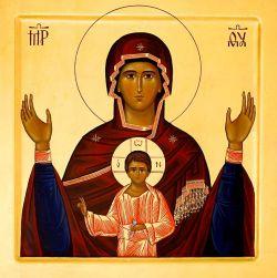 Le icone di Bose - tempera all'uovo su tavola - stile bizantino