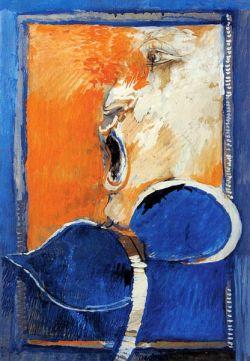 Olio su tela  cm 51,5 x 36 - 1973 Collezione privata