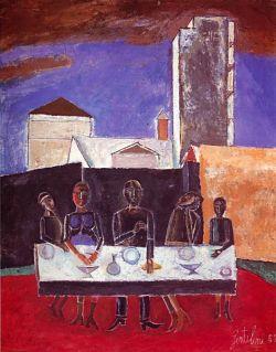 Olio su tela cm 100x81 - 1952  - GNAM Roma