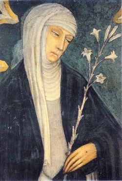 CATERINA DA SIENA, Andrea Vanni, XIV sec.