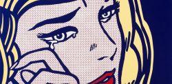 Roy Lichtenstein, Donna che piange, 1964.