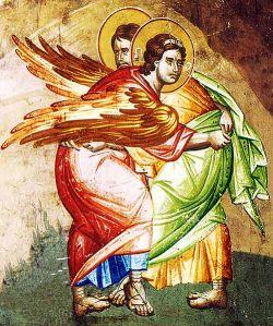 fresco, XIII cent., Ocrida