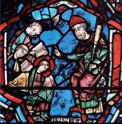 Chartres, vitrail