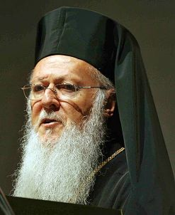 Sa Sainteté le patriache oecuménqiue Bartholomée Ier