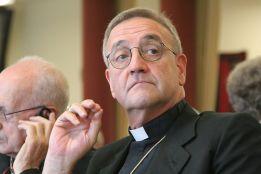 l'Arcivescovo Antonio Mennini, Nunzio Apostolico, rappresentante della Santa Sede nella Federazione russa