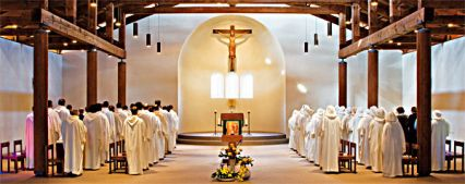 Église monastique de Bose